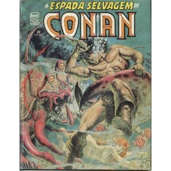 32716 A Espada Selvagem de Conan 22 (1986) Editora Abril