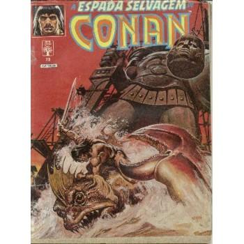 32795 A Espada Selvagem de Conan 73 (1990) Editora Abril