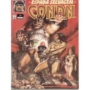 32802 A Espada Selvagem de Conan 76 (1991) Editora Abril