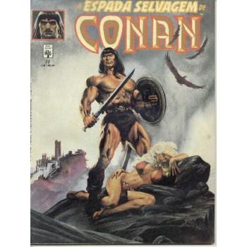 32803 A Espada Selvagem de Conan 77 (1991) Editora Abril