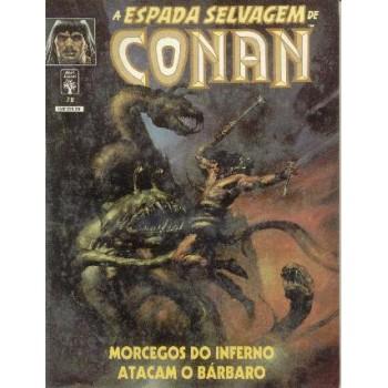 32806 A Espada Selvagem de Conan 78 (1991) Editora Abril