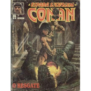 32807 A Espada Selvagem de Conan 79 (1991) Editora Abril