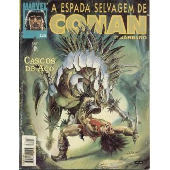 32869 A Espada Selvagem de Conan 126 (1995) Editora Abril