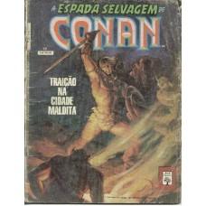 32966 A Espada Selvagem de Conan Reedição 17 (1991) Editora Abril