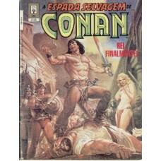 32973 A Espada Selvagem de Conan Reedição 40 (1993) Editora Abril