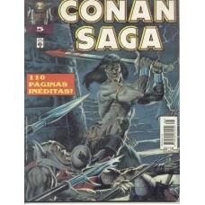 33009 Conan Saga 5 (1994) Editora Abril