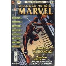 32302 Grandes Heróis Marvel 1 (2000) Super Heróis Premium Editora Abril