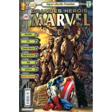 Grandes Heróis Marvel 11 (2001) Super Heróis Premium