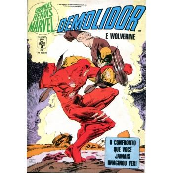 Grandes Heróis Marvel 22 (1988)
