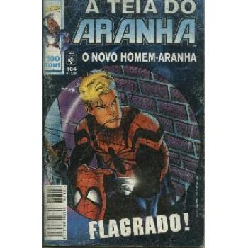 30021 A Teia do Aranha 104 (1998) Editora Abril