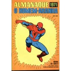 40089 Almanaque O Homem Aranha (1971) Editora Ebal