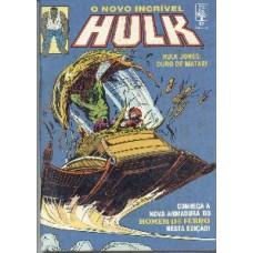 30349 Hulk 87 (1990) Editora Abril