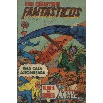 25131 Os Quatro Fantásticos 9 (1979) Editora RGE