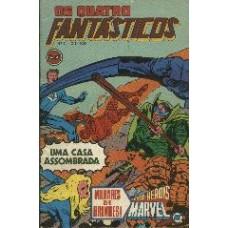 26832 Os Quatro Fantásticos 9 (1979) Editora RGE