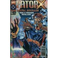 28533 Fator X 6 (1997) Editora Abril