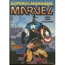 28783 Superalmanaque Marvel 3 (1991) Editora Abril