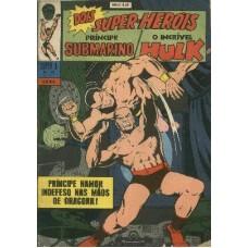 31543 Super X 18 (1969) 5a Série Príncipe Submarino e Hulk Editora Ebal