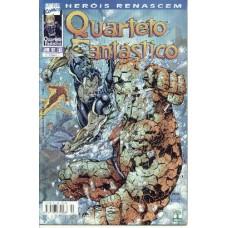 32465 Quarteto Fantástico 2 (1999) Heróis Renascem Editora Abril