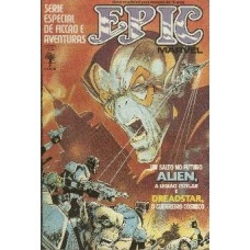 33820 Epic Marvel 3 (1985) Editora Abril
