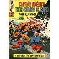 A Maior 4 (1970) 1a Série Capitão América, Thor e Homem de Ferro