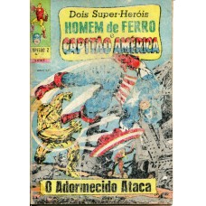 Capitão Z 23 (1969) 3a Série Homem de Ferro e Capitão América