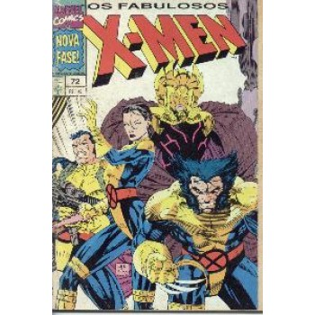 30589 X - Men 72 (1994) Editora Abril