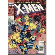30596 X - Men 74 (1994) Editora Abril