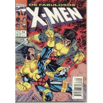 30596 X - Men 74 (1994) Editora Abril