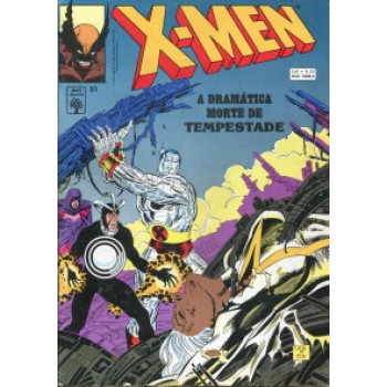 39933 X - Men 51 (1993) Editora Abril