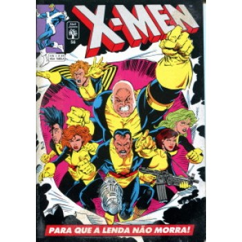 39941 X - Men 56 (1993) Editora Abril