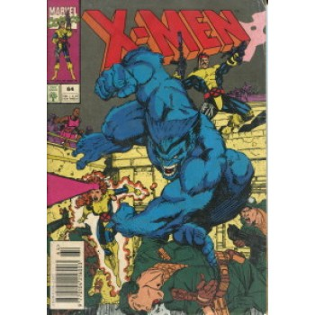 39952 X - Men 64 (1994) Editora Abril