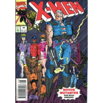 39956 X - Men 66 (1994) Editora Abril