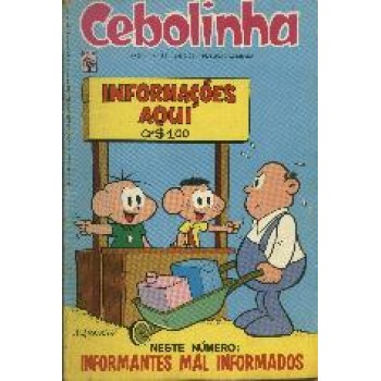 25888 Cebolinha 14 (1974) Editora Abril