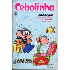 38647 Cebolinha 2 (1973) Editora Abril