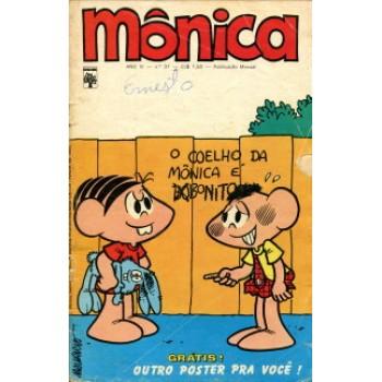 38873 Mônica 37 (1973) Editora Abril