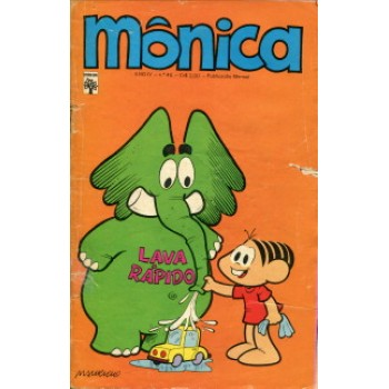38881 Mônica 45 (1974) Editora Abril